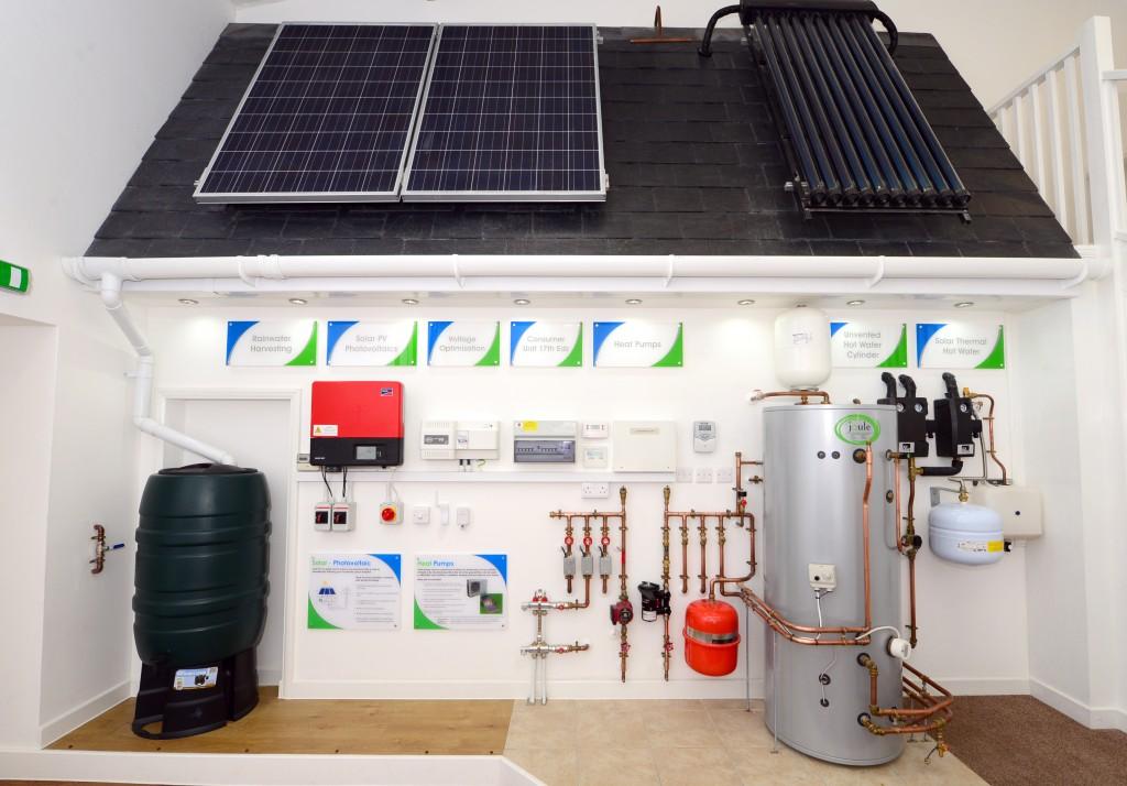Solar Renewable Installations Showroom