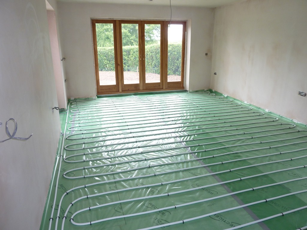 Solar Renewable Underfloor Heating